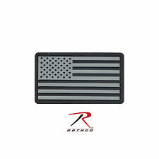 27784 / 27781 / 27782 / 27783 Rothco PVC US Flag Patch With Hook Back