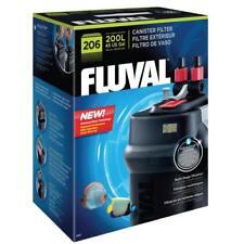 Fluval 206 leistungsstarker Außenfilter, Aquariumfilter mit Filtermaterial  A207