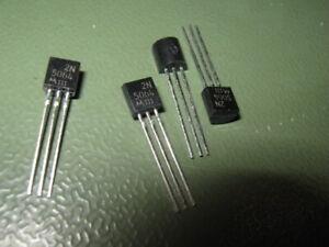 4x 2N5064 - Thyristor/SCR 200V - 0.8A IT(rms) - 200µA Igt - TO92 - Motorola