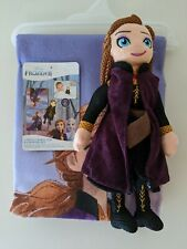 New Disney Frozen 2 Anna Bath Towel and washable scrubby Anna