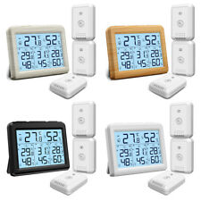 1*Digital LCD_Display Outdoor Indoor Thermometer Hygrometer Temperature Humidity