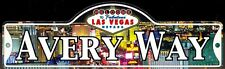AVERY WAY - Welcome To Fabulous Las Vegas Street Sign (Laminated Plastic)