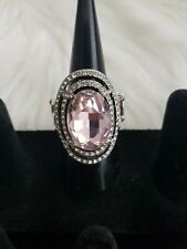 Ring with stretchy band - Pink