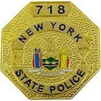 NEW YORK STATE POLICE OFFICER  BADGE PIN