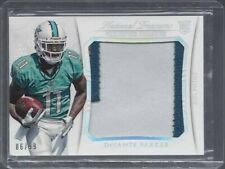 DEVANTE PARKER 2015 NATIONAL TREASURES TREMENDOUS JUMBO 3 COLOR PATCH RC #D 6/99