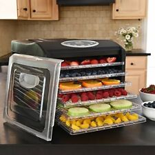 Ivation Electric Countertop Food Dehydrator with 6 Drying Racks w/ Temp Controls