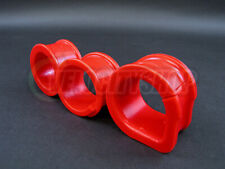 Energy Suspension Steering Rack Bushings for S13 S14 240SX 300ZX Red