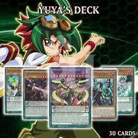 Yuya's Deck 30   Z-ARC Chronograph Sorcerer Wizard Performapal   LED6 YuGiOh