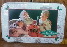 Coca Cola Coke Santa Christmas Tin The Pause That Refreshes