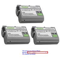 Kastar Replacement battery for Genuine Nikon EN-EL15a OEM Nikon MH-25 MH-25a