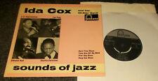 "IDA COX-SOUNDS OF JAZZ-UK 1959 VINYL 7"" EP-FONTANA TFE 17136 (VG+/M-)"