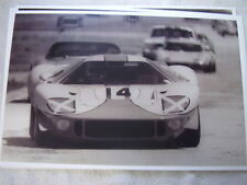 FORD DAYTONA GT 40 RACE CAR  11 X 17  PHOTO  PICTURE