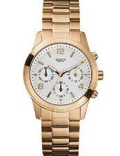 NEW AUTHENTIC GUESS  Women's Chronograph Rose Gold Tone Bracelet 44mm U13578L5