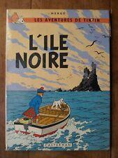 TINTIN - L'ILE NOIRE- B38 - HERGE