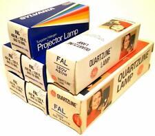 Lot of 7 - FAL Tungsten Halogen Quartz Projector Lamps Bulbs 420W 120V NOS USA