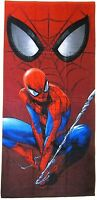 """Marvel Heroes Spiderman Mask of The Spider 30""""x60"""" 100% Cotton Beach Bath Towel"""