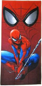 "Marvel Heroes Spiderman Mask of The Spider 30""x60"" 100% Cotton Beach Bath Towel"