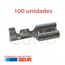 100X Terminal Faston 4,8 - 4.8 mm Hembra