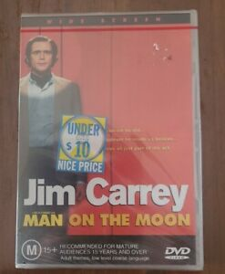 Man On The Moon (DVD)  Jim Carrey New And Sealed Free Postage