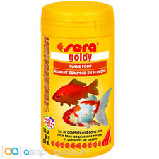 Goldfish Food Flakes Sera Goldy 250 ml FAST FREE USA SHIPPING