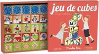 """Set di cubetti di legno della collezione di ricordi per bambini """"Moulin Roty"""""""