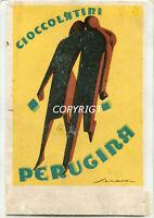 PUBBLICITA'-ADVERTISING-PERUGINA CIOCCOLATINI-ILL. SENECA FEDERICO (Cat.220 € )-