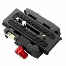 Quick Release Clamp QR Plate for Manfrotto 501 500AH 701HDV 503HDV 7M1W 577