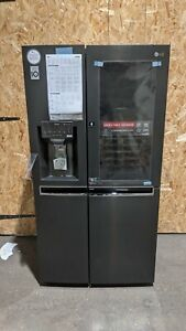LG GSX961MCCZ American-Style Smart Fridge Freezer Ice & Water - Black Steel #42