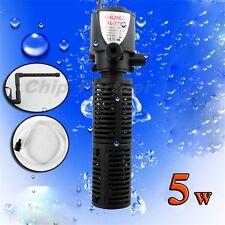 Biological Aquarium Fish Tank Internal filter Filtration Pump 500LPH