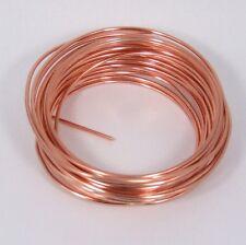 Copper Wire Round 14ga 1.63mm 1/4lb Coil 20ft