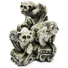 "Gaggle of Ghouls Gargoyle Figurine 4"" High Excellent Condition Free Fast Ship"