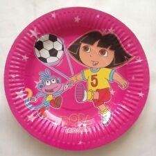 10 Birthday Children Party Plates Tableware DORA