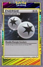 🌈Double Energie Incolore- XY:Générations- 74/83 - Carte Pokemon Neuve Française