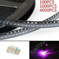 0603 SMD LED Red Green Blue Yellow White Orange Purple 7Colours Light Diodes US