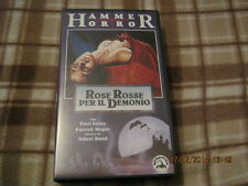 Rose Rosse per il Demonio VHS film diretto da Albert Band