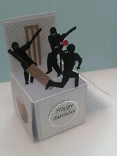 cricket themed pop up card