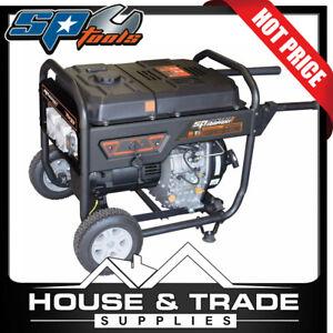 SP Tools Generator 13Hp 6.8KVA 5500w Construction DIESEL Sine Wave SPGD6800E