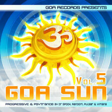 Goa Sun, Vol. 5 By Pulsar, Vimana, Dr. Spook & Random  [Goa  / Rare / Import]