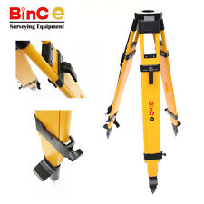 Heavy Duty Wood Tripod for Total Station, Sokkia, Trimble, Topcon, Leica, Survey