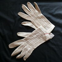 Anciens gants blancs de cérémonie