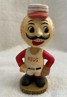 VINTAGE 1960s MLB CINCINNATI REDS BASEBALL BOBBLEHEAD NODDER BOBBLE HEAD