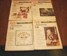 LOT OF 8 VINTAGE  EARLY AMERICAN LIFE MAGAZINES 1995-76-77-78 EARLY AM SOCIETY