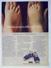 1978 Keds Kids Shoes Feet Vintage Magazine Print Advertisement Page
