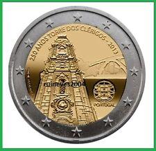 """2 Euro Gedenkmünze Portugal 2013 - """"250. Jahrestag Glockenturm in Porto"""""""