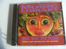 MUSIC THE BIG PICTURE THEMES AND UNDERSCORES  RARE LIBRARY SOUNDS CD
