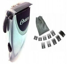 Oster Silver Free rider hair Clipper w/adjustable blade + Oster 10 pc Comb set
