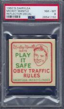 1950'S DAIRYLEA  MICKEY MANTLE PSA 8 NEAR MINT/MINT  WELL CENTERED