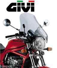 Windscreen windshield universal GIVI A34 4 points 49 x 50 cm moto smoked screen