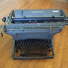 Antique Underwood Large Carriage Typewriter USA Very Nice Free Shipping