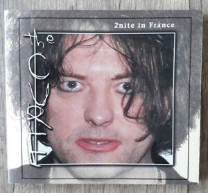THE CURE - 2nite in France - CD digipack - live 2001/96/98